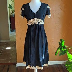 Betsey Johnson navy dress